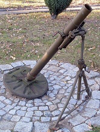 82-BM-37 - Image: Zagan 82 mm moździerz wz 37