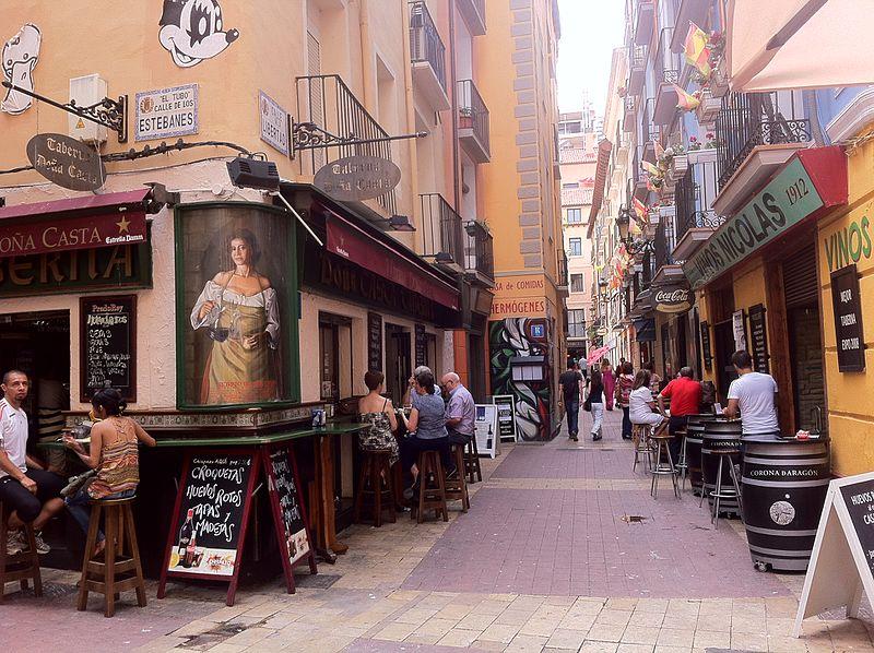 "File:Zaragoza - Vistas Generales - ""El Tubo"" 4.jpg"