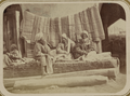 Zeravshan District. City of Samarkand. Vendor of Turbans WDL11153.png