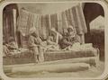 Zeravshan District. City of Samarkand. Vendor of Turbans WDL11153.png