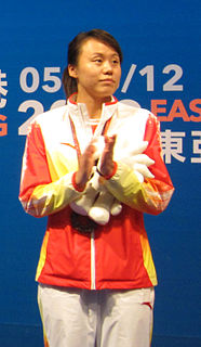 Zhao Yunlei Badminton player