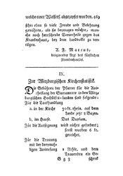 Zur Wirzburgischen Kirchenstatistik, S. 469-472