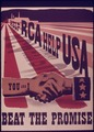 """Help RCA Help USA...You and I...Beat the Promise"" - NARA - 514464.tif"