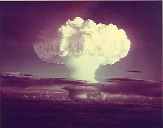 "Ivy Mike - Image: ""Ivy Mike"" atmospheric nuclear test November 1952 Flickr The Official CTBTO Photostream"