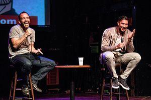 "Brendan Schaub - Brendan Schaub and Bryan Callen, hosts of ""The Fighter and the Kid"" Podcast on FOX Sports."