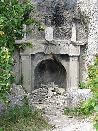 "Tout Quarry - Image: ""The Fireplace"" geograph.org.uk 1316562"
