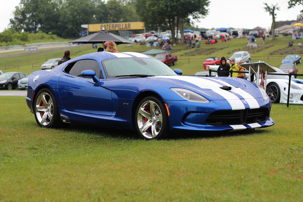 Dodge Viper 2017 Blue >> Dodge Viper - Wikipedia