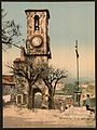 """ Mont Chevalier,"" the tower and calvary, Cannes, Riviera-LCCN2001699283.jpg"