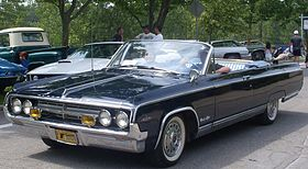 Px Oldsmobile Convertible Auto Classique Vacm Laval on 1966 Olds Ninety Eight