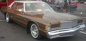 Dodge Monaco - 1976 Dodge Royal Monaco 2-door hardtop