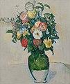 'Fleurs dans un pot d'olives' by Paul Cézanne. 1880-82.jpg