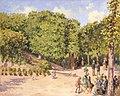 'Town Park in Pontoise ' by Camille Pissarro, 1873, Hermitage.JPG
