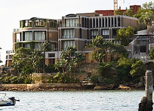 John Symond - Symond's home Wingadal, at Point Piper