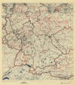 (July 10, 1945), HQ Twelfth Army Group situation map. LOC 2004629202.tif