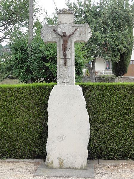 Écrouves (Meurthe-et-M.) croix de chemin D400
