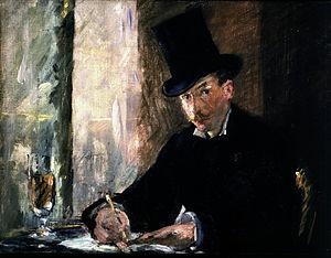 Chez Tortoni - Image: Édouard Manet Chez Tortoni