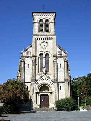 Saint-Martin-d'Hères - The church of Saint-Martin