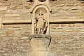 Église St Aubin d'Arquenay statue St Aubin.JPG