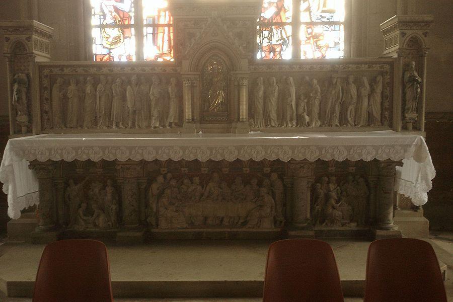 Retable Église Saint-Jacques de fr:Montebourg