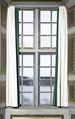 Öppet fönster. Dokumentation, gardiner - Skoklosters slott - 86635.tif