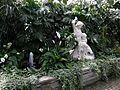 Łańcut palace - orchid house - exhibition- fountain and statue.jpg