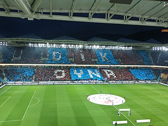 Şenol Güneş Stadium - Image: Şenol Güneş Stadyumu Medical Park Arena