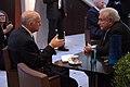 Συνάντηση με τον Διευθύνοντα Σύμβουλο του ΔΝΤ-IMF, Dominique Strauss-Kahn (4989788694).jpg