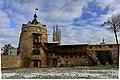 Башта і мур Летичівського замку, зима 2020.jpg