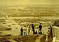 Вид на Нижегородскую ярмарку с Ярилиной горы (Гребешка). 1870-е гг. Карелин.jpg