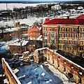 Вид со сторожевой башни на Кафедральный собор. Зима 2013.jpg