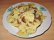 طبق الباستا باللحم