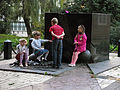 Пам'ятне місце масових страт громадян у період націстської окупації в роки ВОВ -Бабин Яр, Сирецький парк.JPG