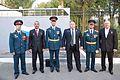 Перед церемонией награждения 201-й Гатчинской Российской Дважды Краснознаменной военной базы 2.jpg