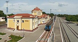 Vorozhba - Vorozhba railway station