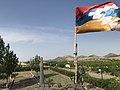 Արցախյան ազատամարտի տանկ - հուշարձան (Ասկերան), Tank monument of The Artsakh War (Askeran) 01.jpg