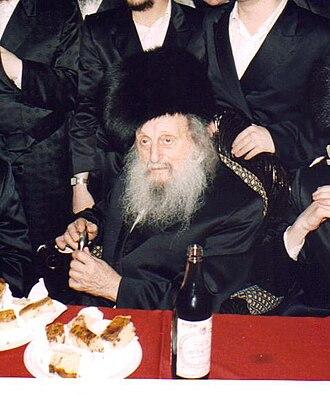 Izhbitza – Radzin (Hasidic dynasty) - Grand Rabbi Avrohom Yissochor Englard of Radzin