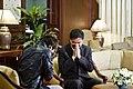 """นายกรัฐมนตรี บันทึกเทปรายการ """"เที่ยงวันทันเหตุการ - Flickr - Abhisit Vejjajiva.jpg"""