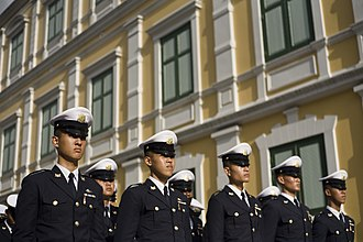 Armed Forces Academies Preparatory School - Pre-cadet uniform