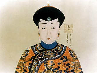 Empress Xiaoshencheng - Image: 《雍宫式范》皇后部分