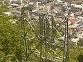 上山田温泉の看板温泉マークから温泉街を見る - panoramio.jpg