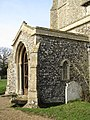 -2019-02-05 South porch, Saint Mary, Northrepps.JPG