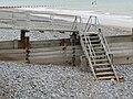 -2019-10-10 Set of steps down to Cromer beach.JPG