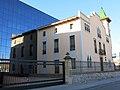 001 Casa Niubò (Mollerussa), façana c. Prat de la Riba.JPG