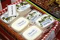 00901 Beskider Bryndza-Käse aus Ziegenmilch 2013; Goat's-milk cheeses from Poland; Northern Subcarpathians.JPG