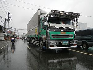 Isuzu Giga - Image: 02151jf Bernardo District Highway Cabanatuan City Nueva Ecijafvf 22