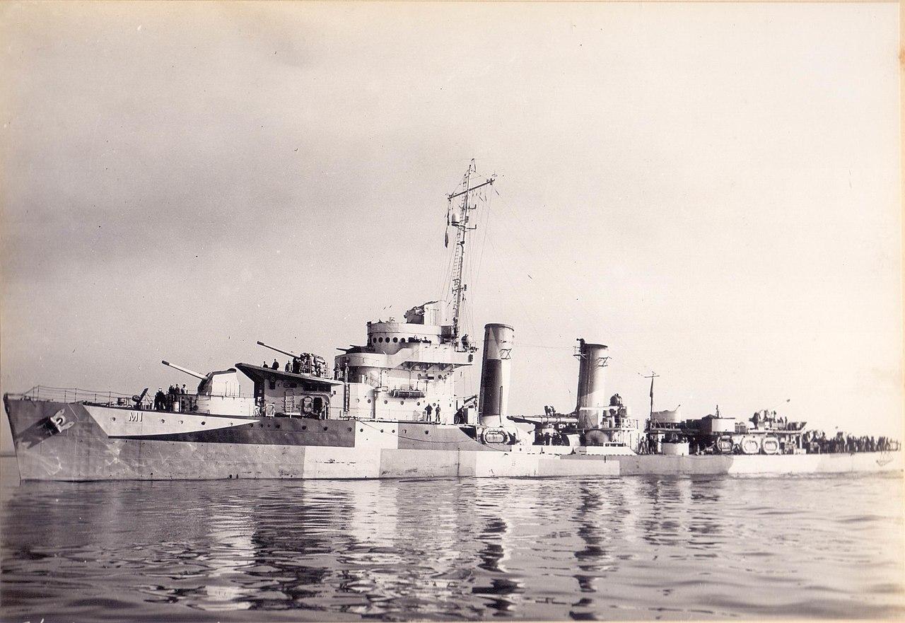 Brazilian destroyer Mariz e Barros
