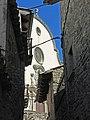 058 Església parroquial de Sant Boi de Lluçanès, façana, des del c. Argenteria.jpg