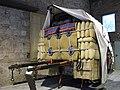 074 Fabra i Coats (Barcelona), Can Fontanet, carruatges dels Tres Tombs, carro de carrera.jpg