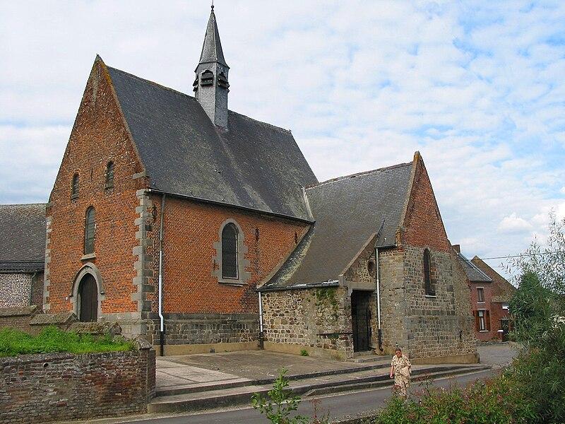 Estinnes-au-Mont   (Belgium), Our Lady of Cambron's chapel (XVth century).