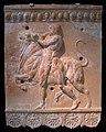 0 Plaque Campana - Hercule capturant le taureau crétois.JPG